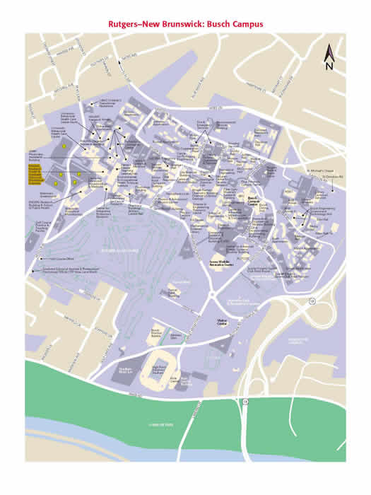 RWJMS Graduate Programs   Maps and Directions