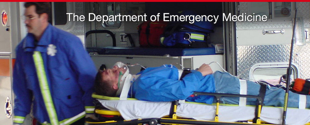 Welcome to the Department of Emergency Medicine
