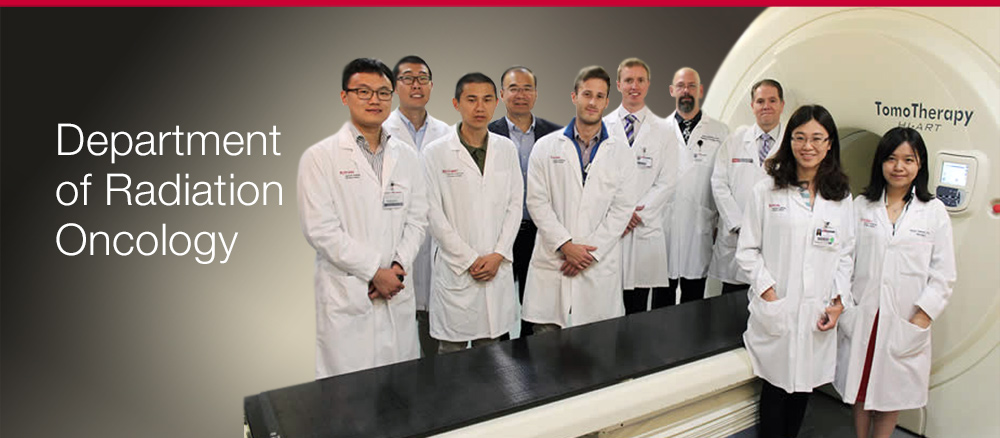 Overview of the Department of Radiation Oncology