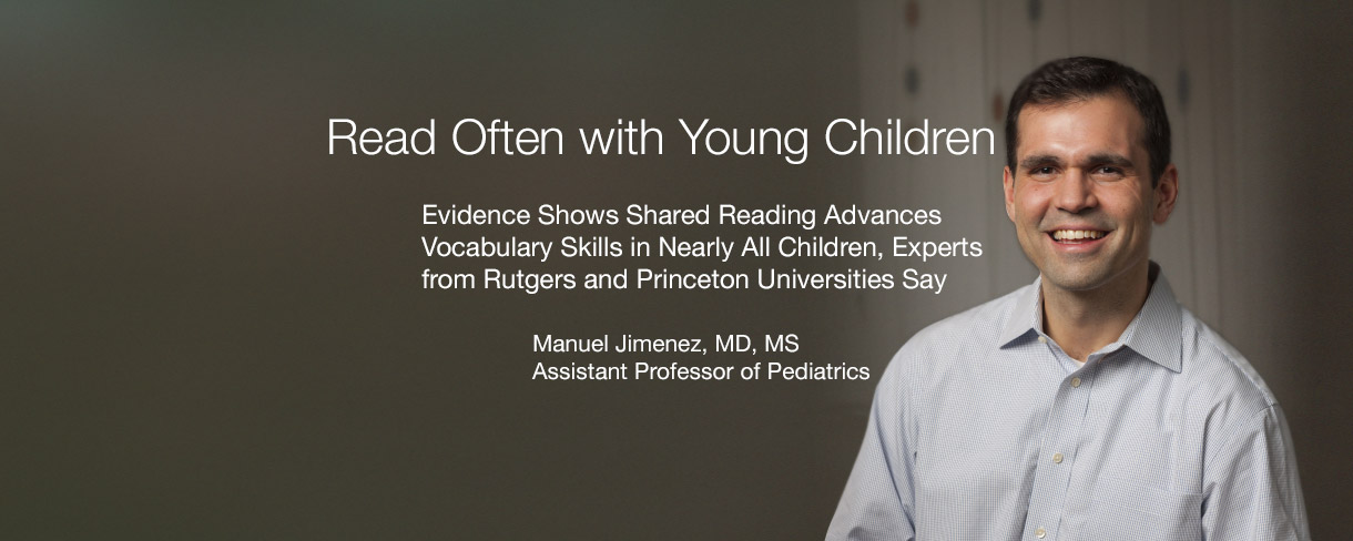 Read Often with Young Children