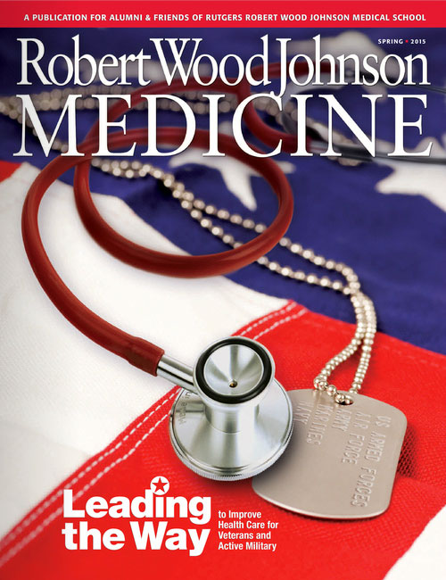 Robert Wood Johnson Medicine magazine cover